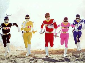 Denji Sentai Megaranger. (Photo courtesy of Wikipedia)