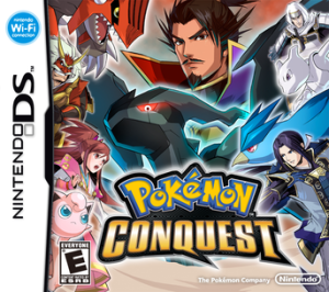 """Pokémon Conquest"", where you can see Oda Nobunaga portrayed in the upper middle. (Photo courtesy of Wikipedia)"