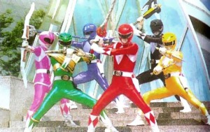 The Kyôryû Sentai Zyuranger, that became Power Rangers in America. (Photo courtesy of power ranger.wiki.com)