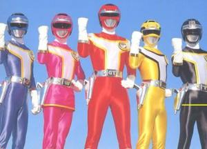 Kousoku Sentai Turboranger. (Photo courtesy of http://www.jefusion.com)