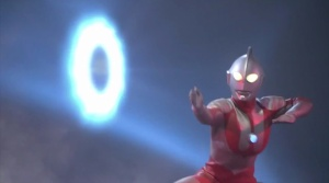 Ultraman performs his Ultra-slash move (Photo courtesy of http://ultra.wikia.com)